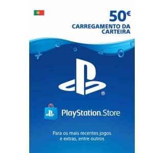 PSN CARTÃO PLAYSTATION NETWORK 50€ (ENVIO POR EMAIL)