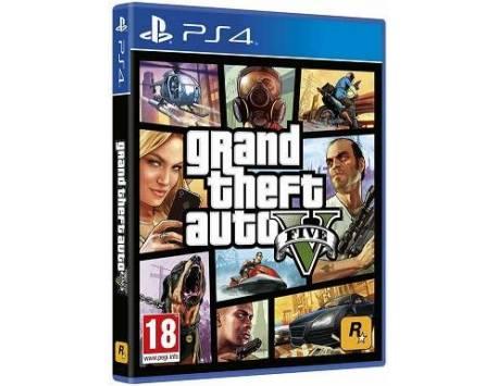 GRAND THEFT AUTO V PS4 (USADO)