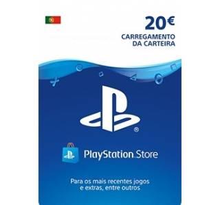 PSN CARTÃO PLAYSTATION NETWORK 20€ (ENVIO POR EMAIL)
