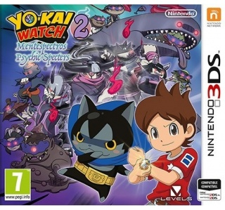 YO-KAI WATCH 2 PSYCHIC SPECTERS 3DS/2DS