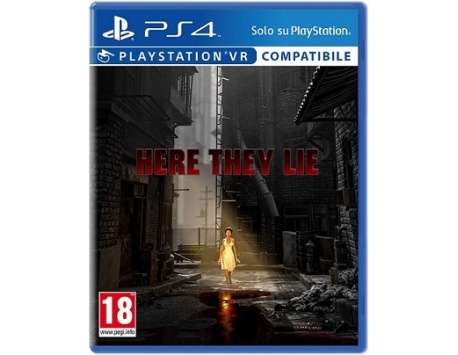 HERE THEY LIE PS4 (REQUER PS VR)