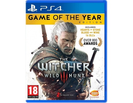 THE WITCHER WILD HUNT GAME OF THE YEAR PS4