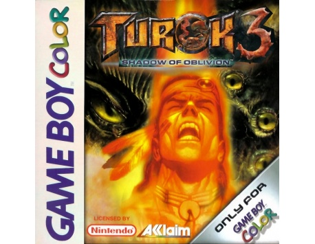 TUROK 3 SHADOW OF OBLIVION GAME BOY COLOR (USADO)