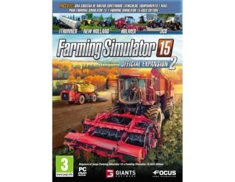 FARMING SIMULATOR 15 OFFCIAL EXP 2 PC