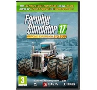 FARMING SIMULATOR 17 OFFICIAL EXPANSION BIG BUD PC