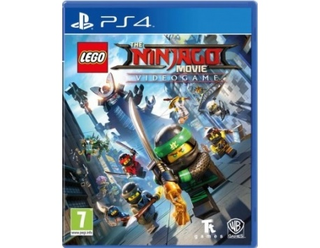 LEGO NINJAGO THE MOVIE VIDEOGAME PS4