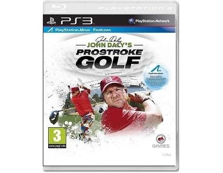 JOHN DALY'S PROSTROKE GOLF PS3