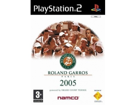 ROLAND GARROS 2005 PS2 (USADO)
