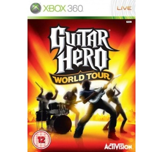 GUITAR HERO WORLD TOUR XBOX 360 (USADO)