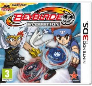 BEYBLADE EVOLUTION 3DS/2DS (USADO)