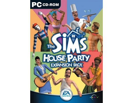 THE SIMS HOUSE PARTY PC (USADO)