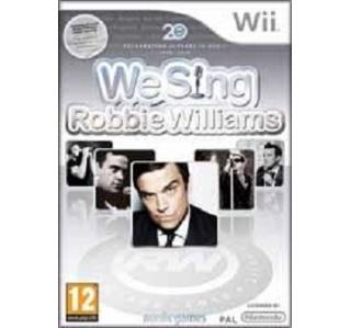 WE SING ROBBIE WILLIAMS WII