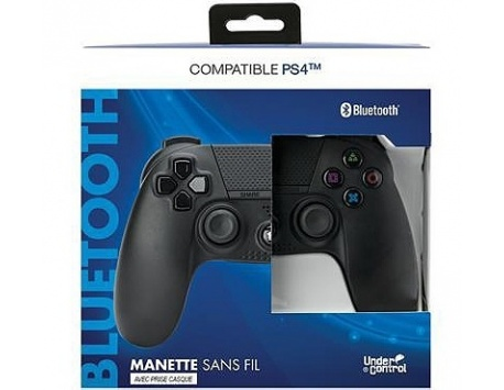 COMANDO PS4 BLUETOOTH UNDER CONTROL PRETO