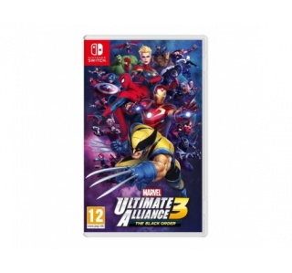 MARVEL ULTIMATE ALLIANCE 3 THE BLACK ORDER NINTENDO SWITCH
