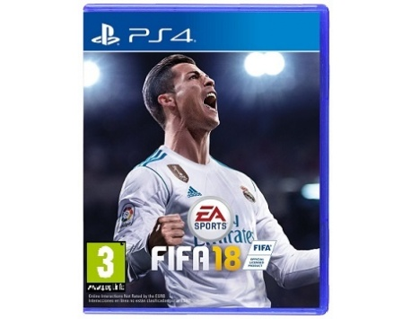 FIFA 18 PS4 (USADO)