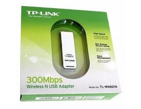 ADAPTADOR USB WIRELESS TP-LINK 300MBPS