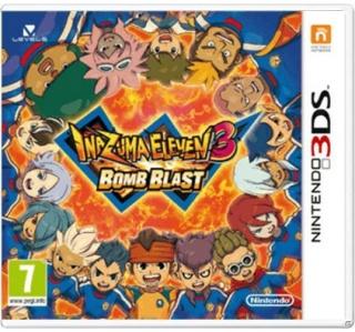 INAZUMA ELEVEN 3 BOMB BLAST 3DS/2DS (USADO)