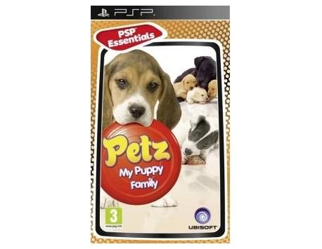 PSP PETZ MY PUPPY FAMILY (USADO)