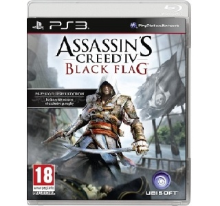 ASSASSIN'S CREED IV BLACK FLAG PS3 (USADO)