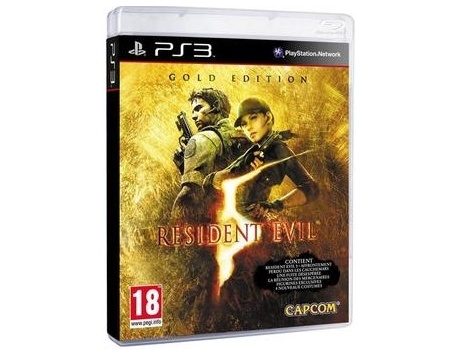 RESIDENT EVIL 5 GOLD EDITION PS3 (USADO)