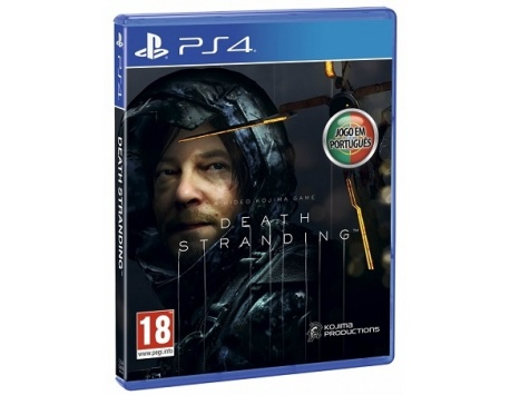 DEATH STRANDING DAYS OF PLAY PS4