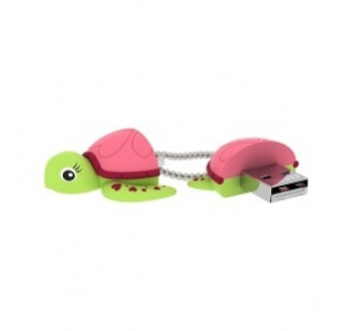 PEN DRIVE ANIMALITOS TURTLE LADY EMTEC 16GB USB 2.0