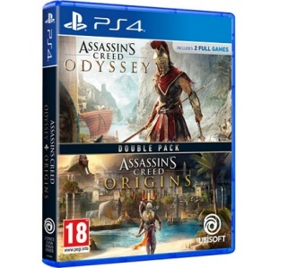 ASSASSINS CREED ODYSSEY + ORIGINS DOUBLE PACK PS4