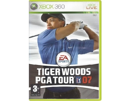 TIGER WOODS PGA TOUR GOLF 07 XBOX 360 (USADO)