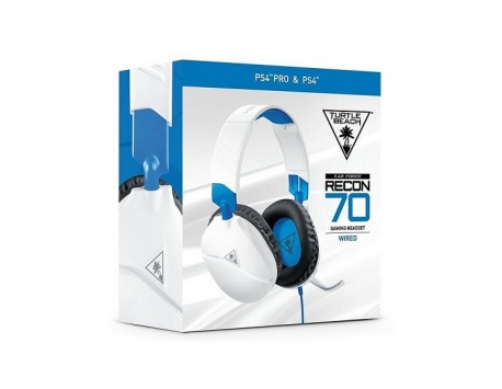 HEADSET TURTLE BEACH RECON 70 BRANCO