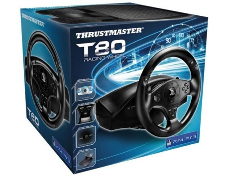 VOLANTE THRUSTMASTER T80 RACING WHEEL OFICIAL LICENSE PS4 - PS3