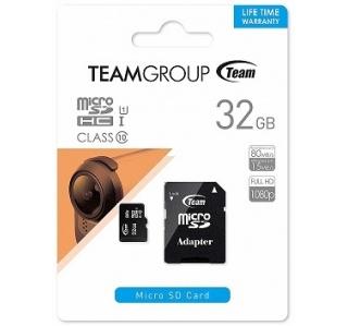 CARTÃO DE MEMORIA TEAM GROUP SDXC MICRO SD 32GB CLASS 10 UHS-I