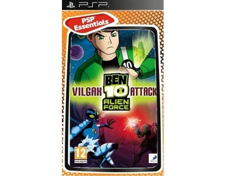 BEN 10 ALIEN FORCE VILGAX ATTACKS PSP (USADO)