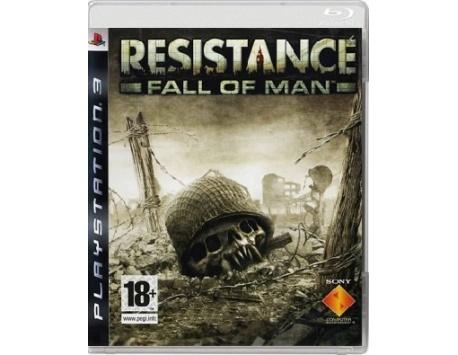 RESISTANCE FALL OF MAN PS3 (USADO)