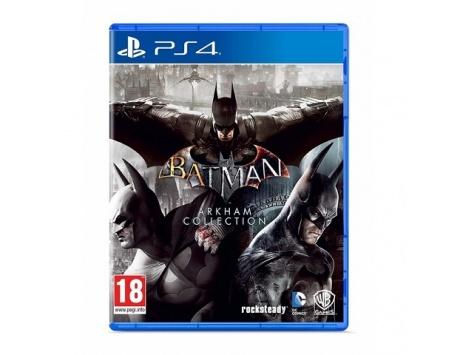 BATMAN ARLHAM COLLECTION PS4