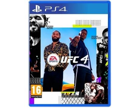 UFC 4 PS4 - BLACK FRIDAY 2020