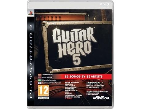 GUITAR HERO 5 PS3 (USADO)