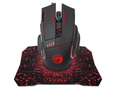 RATO GAMING 7 CORES G909+G1 C/TAPETE