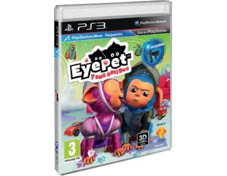 EYE PET & AMIGOS PS3 (USADO)