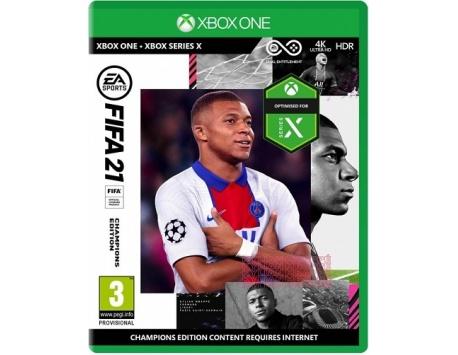 Fifa 21 Champions Edition Xbox One/Xbox Series X - Upgrade Gratuito - BLACK FRIDAY 2020