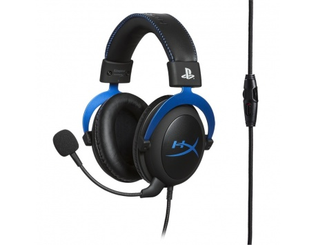 HEADSET HYPERX CLOUD GAMING PRETO - AZUL PS4