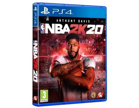 NBA 2K20 PS4 (USADO)