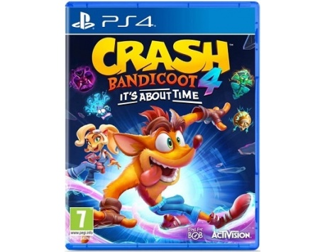 CRASH BANDICOOT 4 IT'S ABOUT TIME PS4 - PROMOÇÕES PRIMAVERA