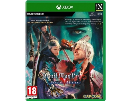 DEVIL MAY CRY 5 SPECIAL EDITION XBOX ONE/XBOX SERIES X