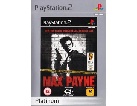 MAX PAYNE PS2 (USADO)