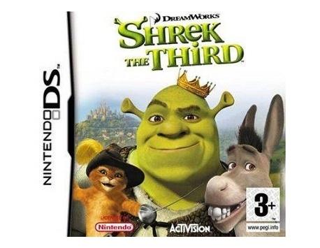 SHREK'S THE THIRD DS (USADO)