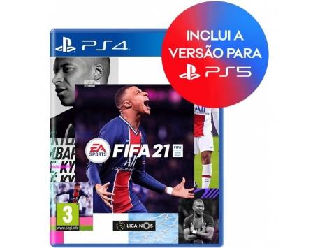 FIFA 21 PS4/PS5 (TEXTOS EM PORTUGUÊS) - Upgrade Gratuito - BLACK FRIDAY 2020