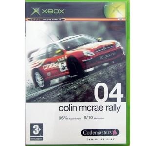 COLIN MCRAE RALLY 04 XBOX (USADO)