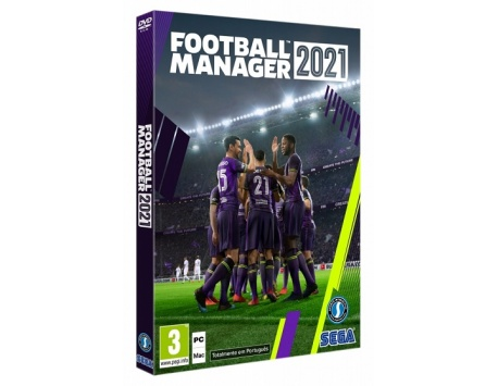 FOOTBALL MANAGER 2021 (VERSÃO DIGITAL) PC
