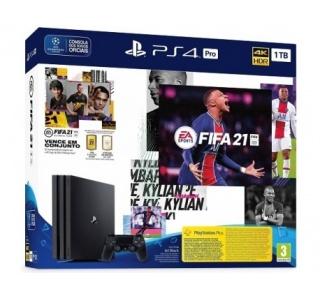 CONSOLA PS4 PRO 1TB + FIFA 21