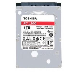 DISCO THOSHIBA HDD 1TB 2.5 SATA II 5400RPM 8MB